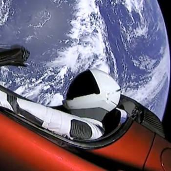Tesla lanzado al espacio